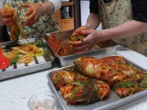 韓国料理教室キムチ
