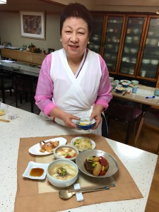 韓国料理研究家 金裕美
