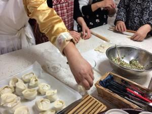 韓国料理教室風景